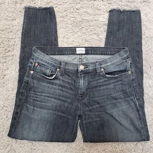 Hudson Size 30 Skinny Jeans Raw Hem